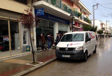 Ληστεία στα ΕΛΤΑ Ανδραβίδας - Εισέβαλαν με καραμπίνα - Στα 1000 ευρώ η λεία τους