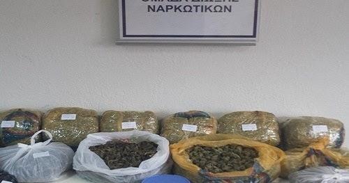 Θα γέμιζαν κάνναβη όλη την Αχαϊα - 20.000 ευρώ η αξία των ναρκωτικών