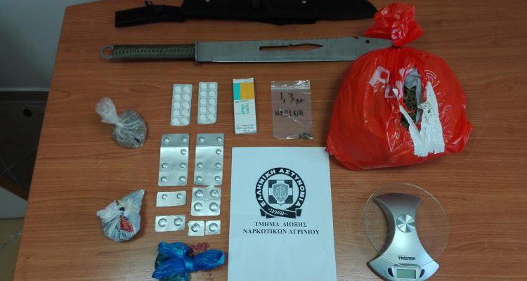Αγρίνιο: Σύλληψη 39χρονου για χασίς και ηρωίνη