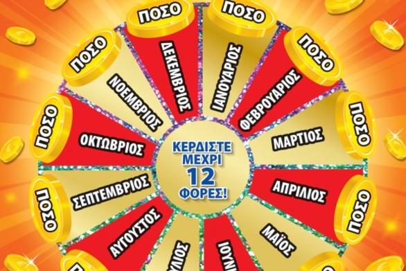 Nαύπακτος: Κέρδισε 12.000 ευρώ το μήνα για 12 μήνες