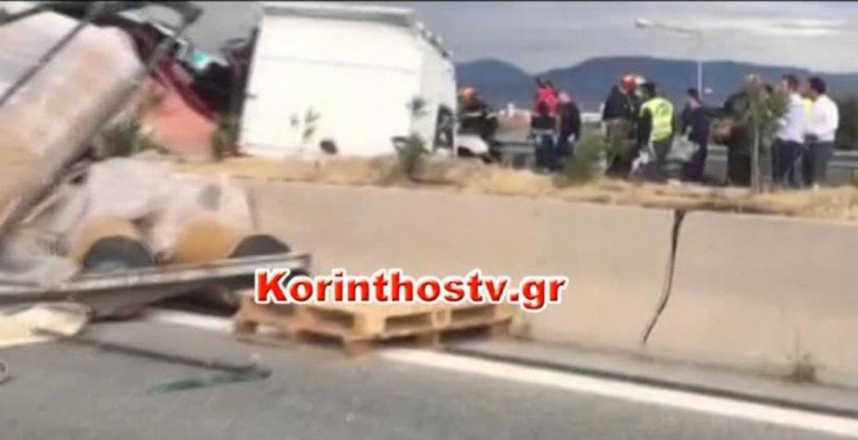 Ένας νεκρός στη νέα εθνική οδό Κορίνθου – Πατρών, στο Καμάρι Ξυλοκάστρου