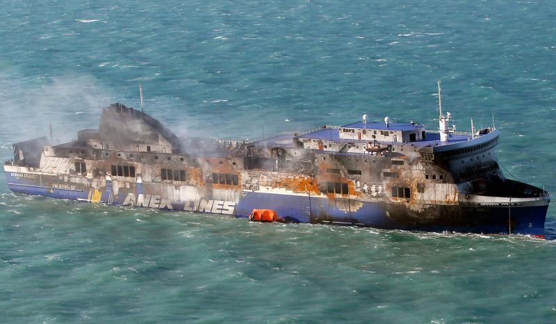 Πόρισμα-φωτιά για το Norman Atlantic-Τεράστιες παραλείψεις και λάθη στη μάχη με τη φωτιά