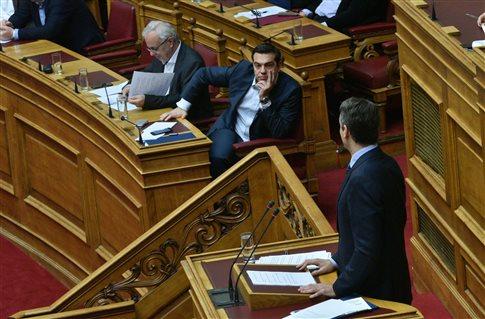 (Βουλή Live)-Μητσοτάκης προς Τσίπρα: Είστε πρωθυπουργός ή προβοκάτορας;