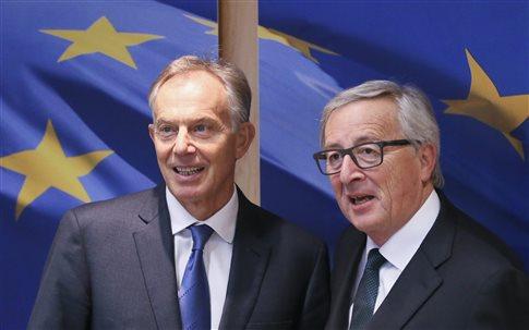 «Ξεσηκωμό» κατά του Brexit θέλει ο Μπλερ