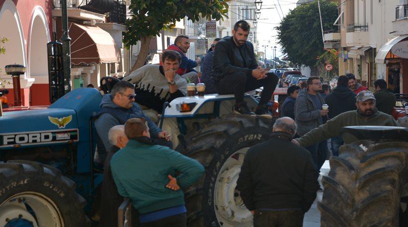 Απόβαση των αγροτών του Αιγίου σήμερα στην Πάτρα