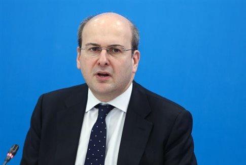 Χατζηδάκης: Η ΝΔ θέλει να μπει στη λογική της παραγωγής