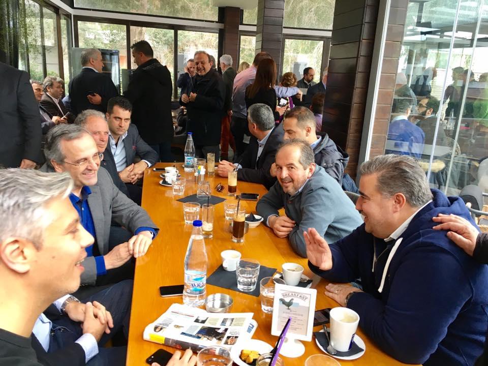 Στην Πάτρα ο Α. Σαμαράς - Συνάντηση με τοπικά στελέχη της Νέας Δημορκατίας