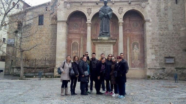 Φοιτητές του ΔΙΕΚ Ναυπάκτου στη Γρανάδα της Ισπανίας