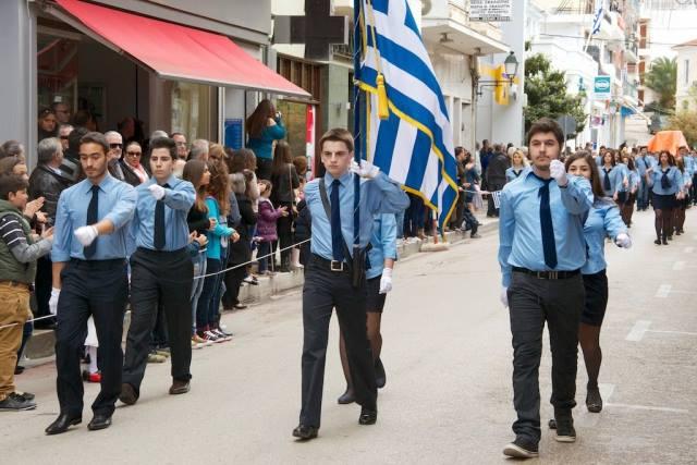 Ναύπακτος: Το πρόγραμμα των εκδηλώσεων για τον εορτασμό της Εθνικής Επετείου της 25ης Μαρτίου 1821