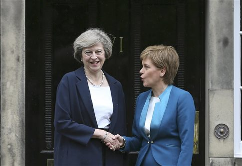 Καβγάς κυριών για την τύχη του Ηνωμένου Βασιλείου μετά το Brexit
