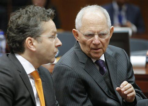 Στη συνάντηση Σόιμπλε - Ντάισελμπλουμ κρίνεται η συμφωνία