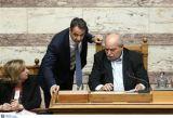 Συνάντηση Μητσοτάκη - Βούτση για την υποβάθμιση του κοινοβουλίου