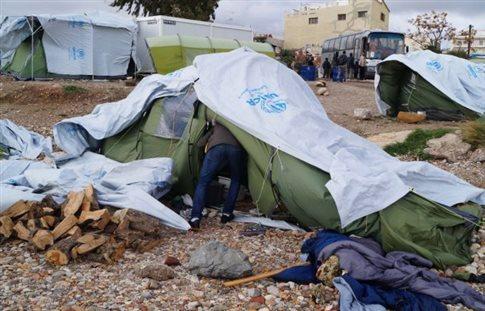 Πέθανε ο Σύρος πρόσφυγας που αυτοπυρπολήθηκε στη Χίο
