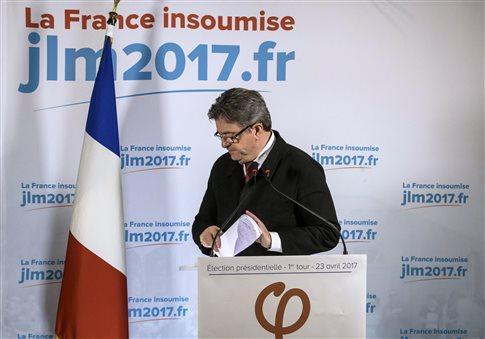 Νέες δηλώσεις Μελανσόν για τον β' γύρο των προεδρικών στη Γαλλία