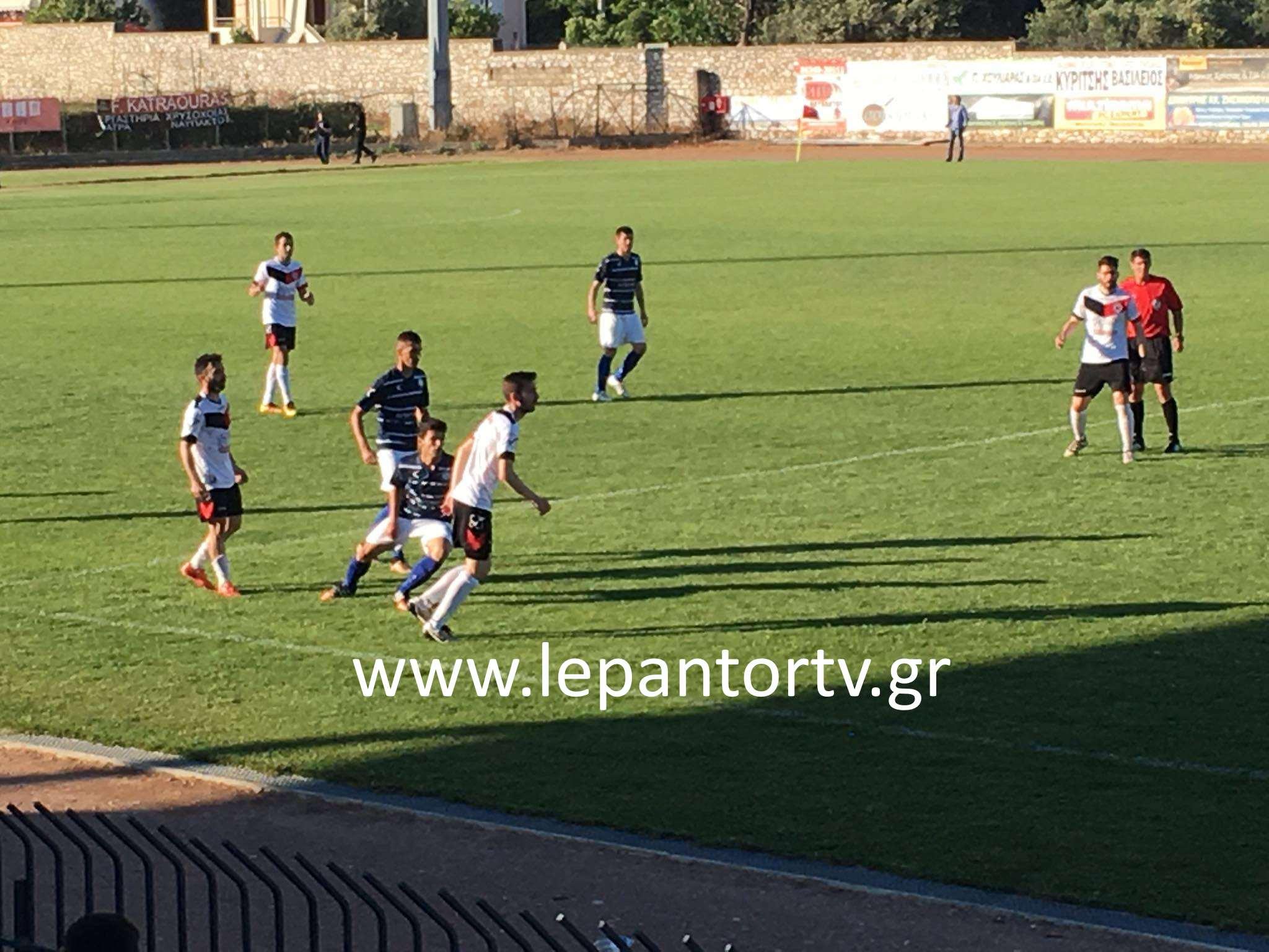 Ναύπακτος: Νίκη για τον «Ναυπακτιακό» κόντρα στην ΑΕΜ με 1-0