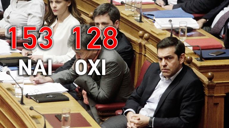 Υπερψηφίστηκε το 4ο Μνημόνιο