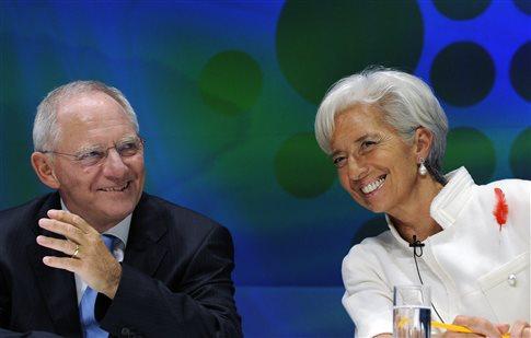 Συμβιβασμό Βερολίνου-ΔΝΤ για την Ελλάδα «βλέπει» η Handelsblatt