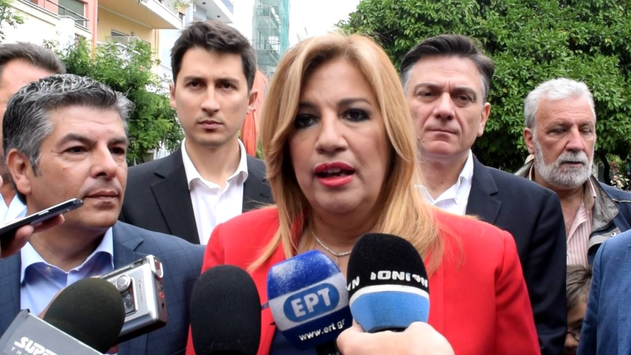 Φ. Γεννηματά από Πάτρα: «Η κυβέρνηση δεν μπορεί να παγιδεύει τη χώρα στο δίλημμα λιτότητα ή Grexit»