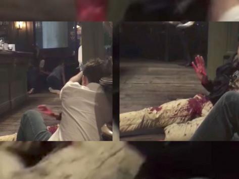 Λονδίνο: Έλληνας τραυματίας μέσα στην παμπ του τρόμου! VIDEO