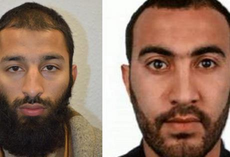Αυτοί είναι δυο από τους δράστες της τρομοκρατικής επίθεσης στη γέφυρα του Λονδίνου