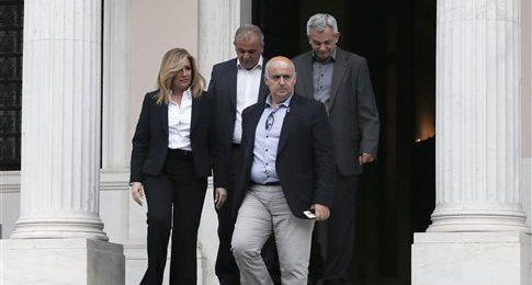 Απορρίπτει η Φ.Γεννηματά την πρόσκληση Τσίπρα για συνεργασία