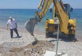 Πάτρα: Τοποθετήθηκαν βάσεις για ομπρέλες, ντουζιέρα και αποδυτήρια στην παλιά Ρομάντζα - ΔΕΙΤΕ ΦΩΤΟ & ΒΙΝΤΕΟ