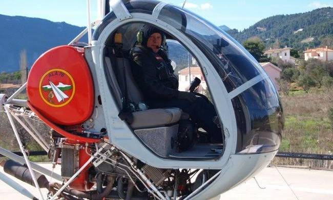 Θρήνος στη Ναυπακτία για τον πιλότο Δ.Πρέντζα - Σκοτώθηκε από πτώση ελικοπτέρου στον Σχοινιά
