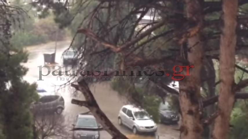 Σε Αχαϊα και Αιτωλοακαρνανία από τα υψηλότερα ύψη βροχής και κεραυνών στη χώρα - ΔΕΙΤΕ ΧΑΡΤΕΣ