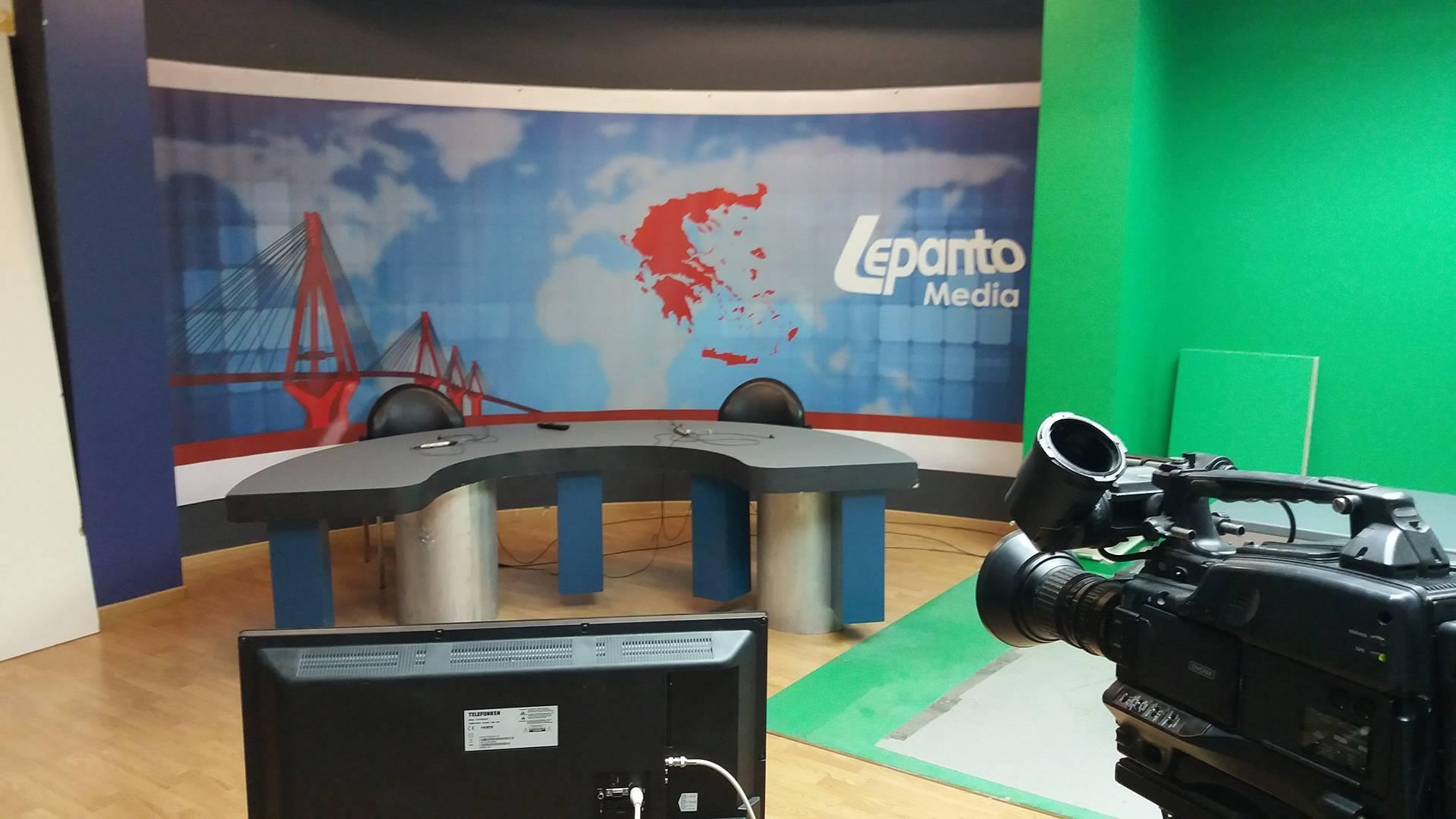 Νέα αρχή για την τηλεόραση του Lepanto