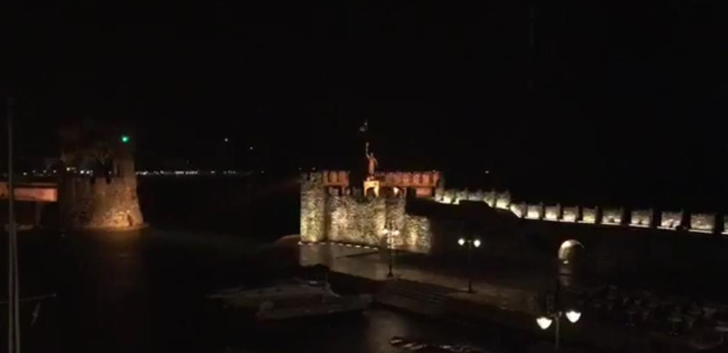 Η «Μέδουσα» χτύπησε και την Ναυπακτία - Δείτε βίντεο από το ενετικό λιμάνι της πόλης την ώρα της νεροποντής