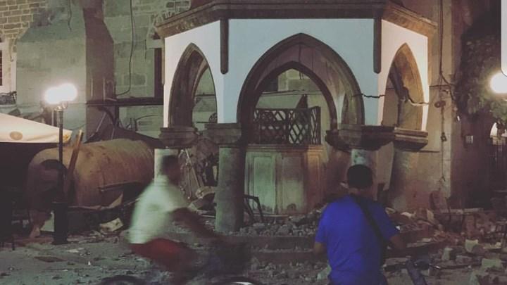 ΤΩΡΑ: Δύο νεκροί στην Κω - Σοβαρές καταστροφές από τον ισχυρό σεισμό των 6,4 Ρίχτερ - ΔΕΙΤΕ ΦΩΤΟ