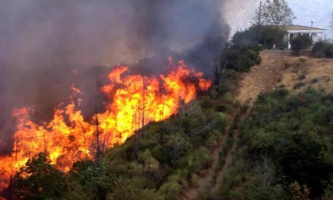 Σε εξέλιξη οι πυρκαγιές σε Ζάκυνθο, Ηλεία - Υπό μερικό έλεγχο στην Κεφαλονιά