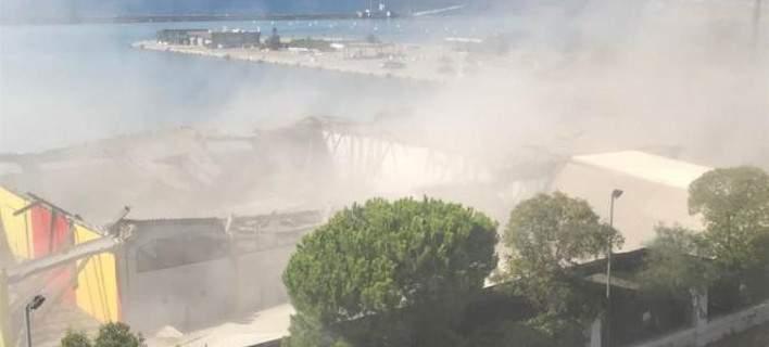 Λιμάνι Πάτρας: «Δεν διαπιστώθηκε ρύπανση του αέρα από ίνες αμιάντου»