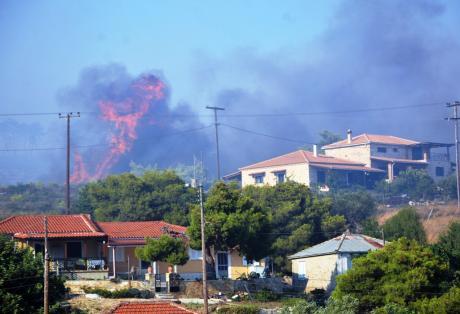 Εμπρησμοί οι περισσότερες πυρκαγιές με τεράστιες ζημίες σε όλο το νησί