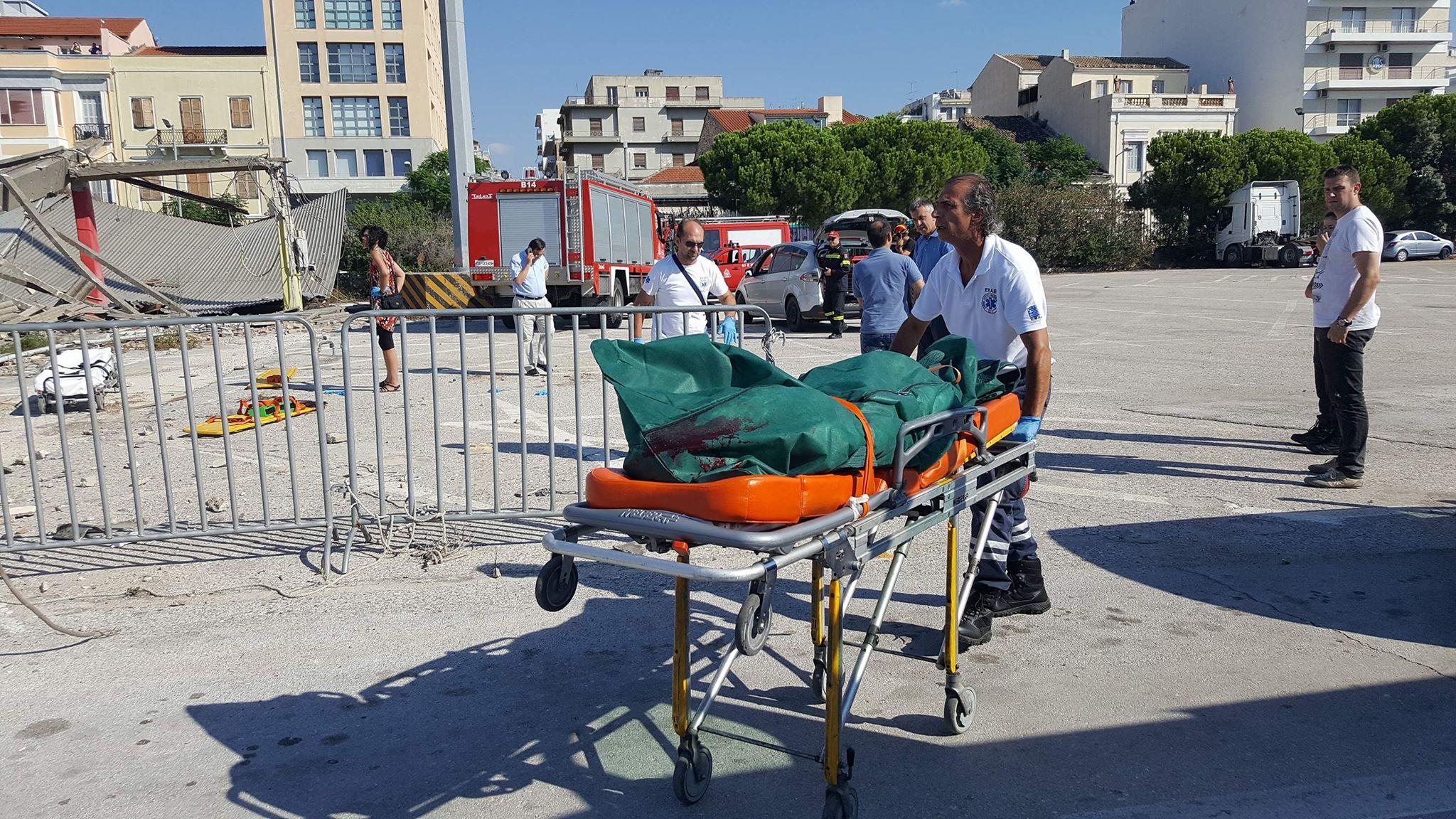 Πάτρα: Στα αζήτητα, στο Νεκροτομείο Ρίου, το θύμα της κατάρρευσης του στεγάστρου