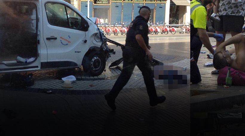 Φορτηγάκι έπεσε σε πεζούς στην Ράμπλας στη Βαρκελώνη: 13 νεκροί, 80 τραυματίες - Οι 3 Έλληνες (ΦΩΤΟ-ΒΙΝΤΕΟ)