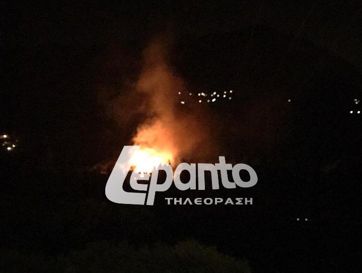 Ναυπακτία: Περιορίστηκε η φωτιά στη Γαβρολίμνη - ΔΕΙΤΕ ΦΩΤΟ