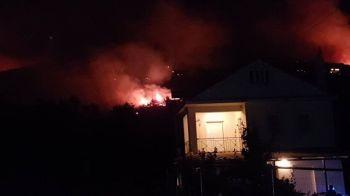 Κόλαση φωτιάς στην Κεφαλονιά - Τρία πύρινα μέτωπα
