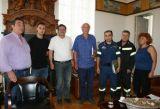 Πάτρα: Στον Δήμαρχο οι πυροσβέστες πενταετούς υποχρέωσης