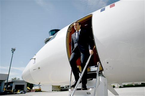 Δείτε LIVE - Στην Ελλάδα ο Γάλλος Πρόεδρος Εμανουέλ Μακρόν