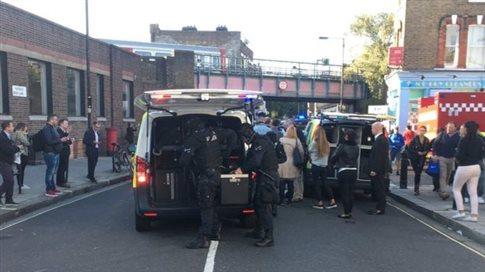 Μικρή έκρηξη σημειώθηκε στο μετρό του Λονδίνου