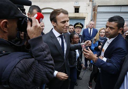 Γαλλία: Μια ατάκα που προκαλεί διαδηλώσεις