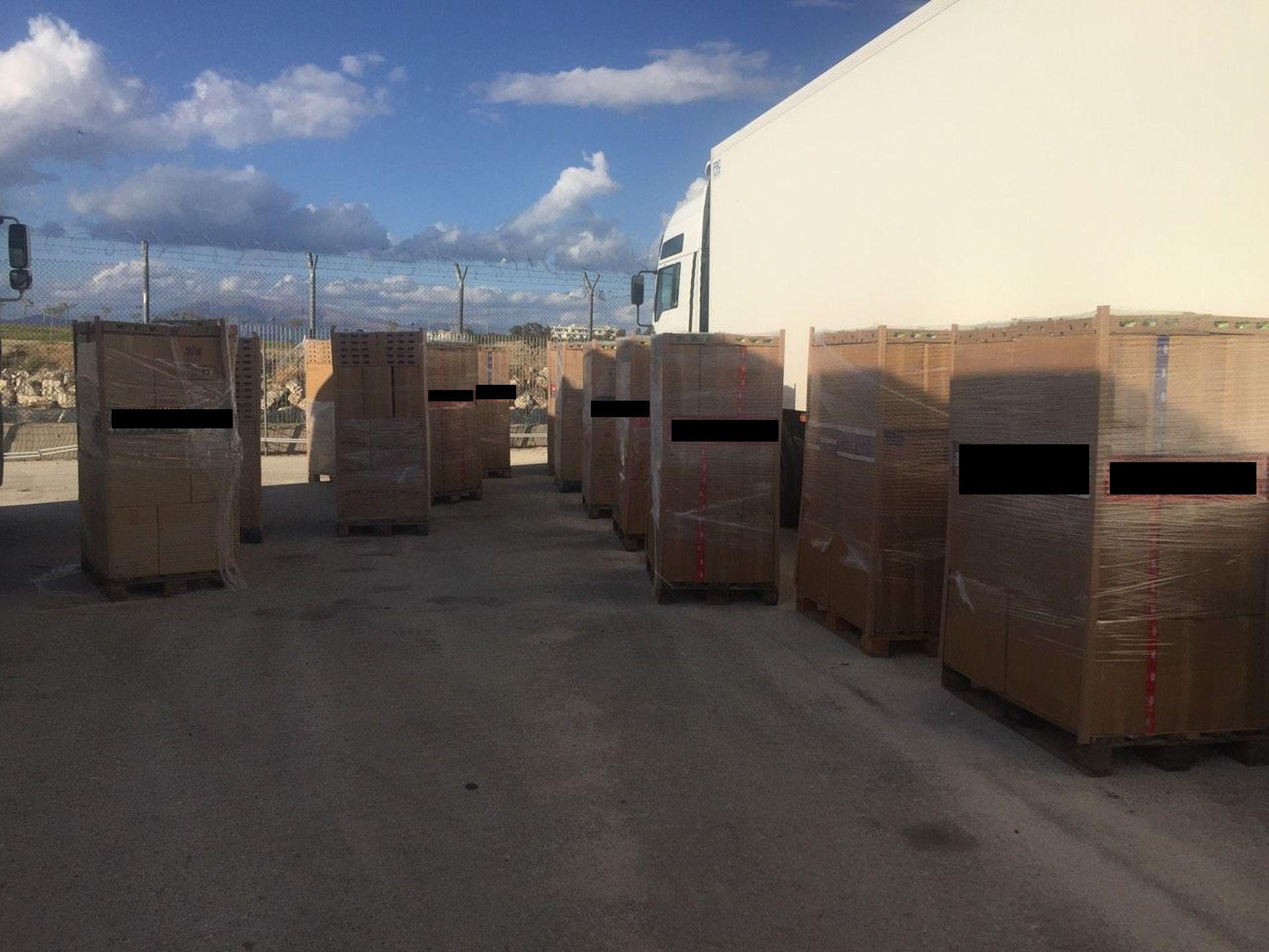 Πάτρα: «Μπλόκο» σε 283.240 πακέτα λαθραίων τσιγάρων στο λιμάνι
