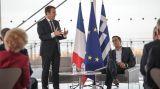 Μακρόν: Οι γαλλικές επιχειρήσεις δεν έφυγαν ποτέ από την Ελλάδα