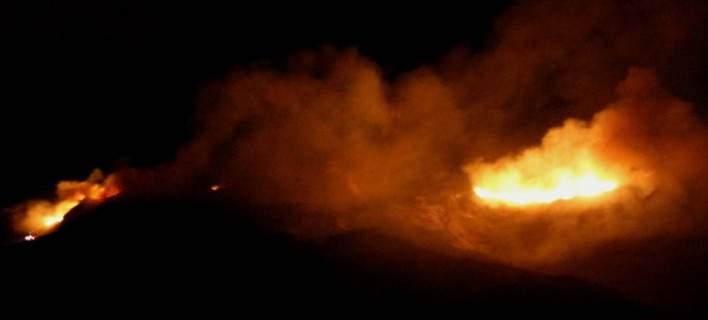 Δυτική Αχαΐα: Oριοθετήθηκε η φωτιά στον Άραξο- Συνεχίζεται η μάχη της κατάσβεσης