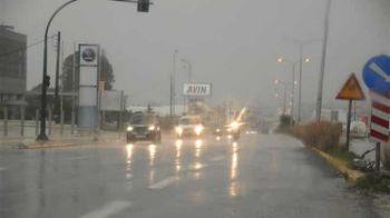 Ισχυρή βροχόπτωση στην Πάτρα - Κατέφθασε ο «Δαίδαλος»