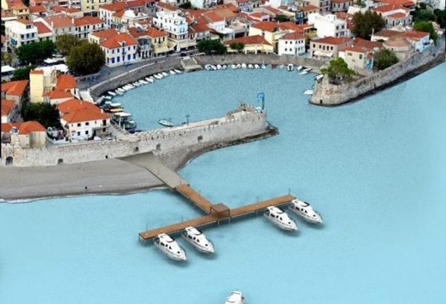 Ναύπακτος: Εγκρίθηκε η πλωτή εξέδρα στο λιμάνι