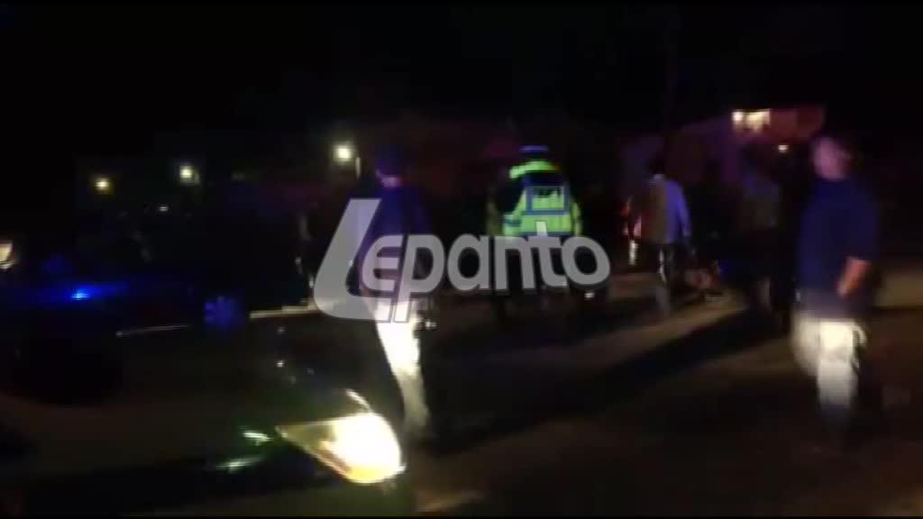Ναύπακτος: Καραμπόλα τριών αυτοκινήτων στον Πλατανίτη