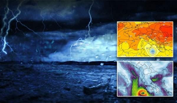 Medicane: Τροπικός κυκλώνας οδεύει προς το Ιόνιο
