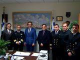 Ο Πρέσβης της Γερμανίας επισκέφτηκε το Κεντρικό Λιμεναρχείο Πάτρας